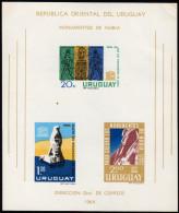 URUGUAY 1964 ** Schutz Der Nubischen Denkmäler - Block 5 MNH - Aegyptologie