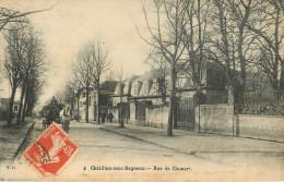 Chatillon Sous Bagneux : Rue De Clamart - France