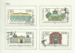 DDR N°2468 à 2471 Cote 3.75 Euros - Used Stamps