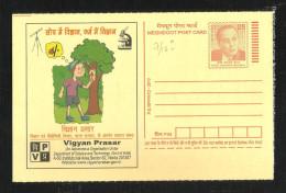 INDIA, 2010, MEGHDOOT POST CARD,Vigyan Prasar,  Homi Jahangir Bhabha,  MNH, (**) - Postal Stationery