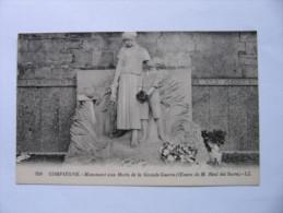 FRANCE COMPIÈGNE. MONUMENT AUX MORTS DE LA GRANDE GUERRE.  1855 - Compiegne