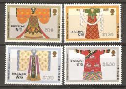 4 Timbres De 1987 ( Hong-Kong )( Neufs** - 1997-... Chinese Admnistrative Region