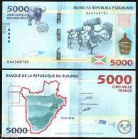 Burundi - 5000 Francs 2015 UNC - Burundi