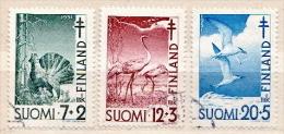 Finland Used Set - Oiseaux