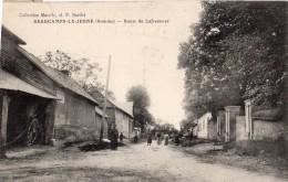 Beaucamps Le Jeune (somme ) - Route De Lafresnoye -80 - - Other Municipalities