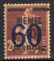 Memel 1921 Mi 35  * [060915L] - Memelgebiet