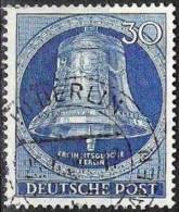 Glocke III (Klöppel Mitte) 1953: Michel-Nr.104 Mit O BERLIN 25.4.5? (Mi € 12.00) - [5] Berlin
