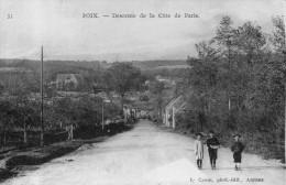 POIX  Descente De La Côte De Paris - Poix-de-Picardie