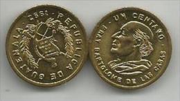 Guatemala 1 Centavo 1992. High Grade - Guatemala