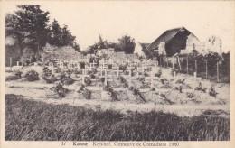 Kanne  - Kerkhof Gesneuvelde Grenadiers 1940 - Riemst
