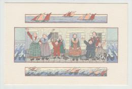 """Anne-Odile HUET-HUMEAU - """"Bon Vent...."""". Réf. 14 -  Folklore - - Illustrateurs & Photographes"""