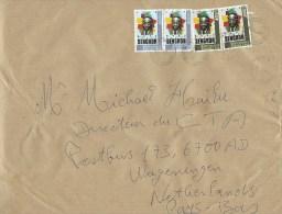 Togo 2015 Lome Writer Senghor 150f 1000f Cover - Togo (1960-...)