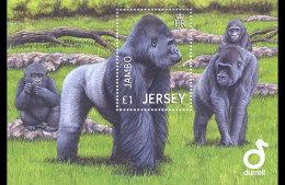 2012 Jersey - Jambo - Gorilla - MS - Paper - MNH** - Jersey