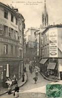 CPA - LIMOGES (87) - Aspect De La Rue Du Clocher Et De La Place St-Martial En 1911 - Limoges