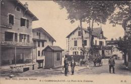 C P A---64--CAMBO LES BAINS---la Place De La Fontaine---voir 2 Scans - Cambo-les-Bains