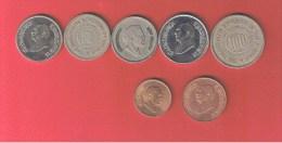 JORDANIE    //  Lot De 7 Monnaies - Jordanie