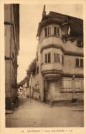 CPA - SAVERNE (67) - Aspect De La Rue Des Pères En 1930 - Saverne