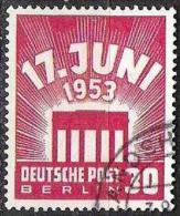 17.Juni 1953: Michel-Nr.111 Mit Eck-o LANDSHUT (Mi € 38.00) - Oblitérés