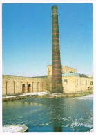 H3473 Burnley - Overlooking The Lodge Or Mill Dam Towards The 120 Ft Chimney At Queen Street Mill / Non Viaggiata - Inghilterra