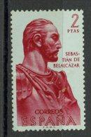 Spain 1961 2p Belalcazar Issue #1017 MH - 1961-70 Lettres