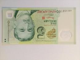 Singapore 5 Dollars 2014 NEUF - Singapore