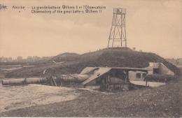 Knokke    La Grande Batterie Wilhelm II Et L' Observatioire     Kanon En Uitkijkpost   Nr 3882 - Knokke