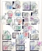 BELGIE : 32 Stamps ELSTROM Met Eerstedagafstempeling / Cachet Premier Jour - 1970-1980 Elström