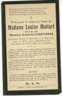 Hannut Merdorp Marie Louise Mottardveuve De Ernest  De Chentinnes - Hannuit