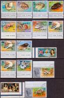 AITUTAKI Cook Islands 1978-79 SG #O1-O16 Compl.set VF Used First Official Set - Aitutaki