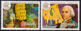 AITUTAKI Cook Islands 1985 SG #O38//O41 Part Set VF Used - Aitutaki