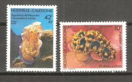 Serie Nº 594/5 Nueva Caledonia - Crustacés