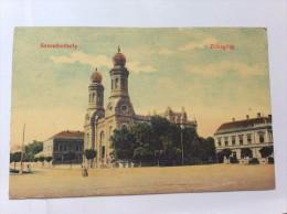 AK   HUNGARY   SZOMBATHELY           SYNAGOGUE   1912 - Judaisme