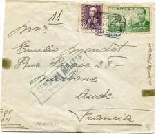 Marque    CENSURA  MILITAR BARCELONA Sur Env.du 16/06/1939 - Republikanische Zensur