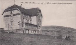 BALLON D´ALSACE. L´hotel Stauffert - France
