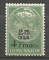 FISCALE / DIMENSION  N° 91 NEUF** SANS CHARNIERE MNH - Steuermarken