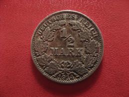 Allemagne - 1/2 Mark 1914 A 0960 - [ 2] 1871-1918 : German Empire