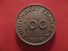 Saarland - 100 Franken 1955 0962 - Saar