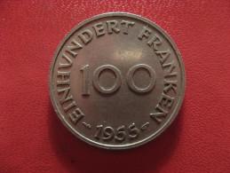 Saarland - 100 Franken 1955 0964 - Saar