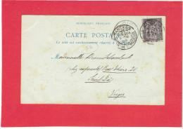 NANCY 1898 FONTAINE ET PLACE D ALLIANCE CARTE EN BON ETAT - Nancy