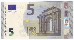 Austria  5 Euro DRAGHI  N017H3  UNC - EURO