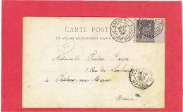 NANCY 1898 PLACE DE LA CARRIERE CARTE EN BON ETAT - Nancy