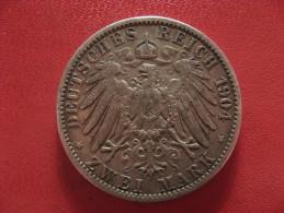 Allemagne - Prusse - 2 Mark 1904 A Wilhelm II 0991 - [ 2] 1871-1918 : Empire Allemand