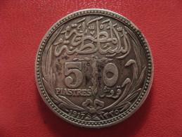 Egypte - 5 Piastres 1917 0975 - Egypte