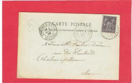 NANCY 1898 INTERIEUR DE L EGLISE BONSECOURS CARTE EN BON ETAT - Nancy