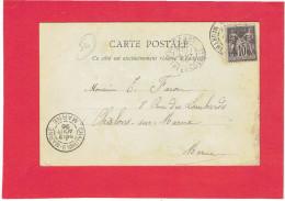 NANCY 1898 MONUMENT DE THIERS CARTE EN BON ETAT - Nancy