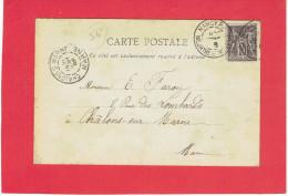 NANCY 1898 STATUE DE STANISLAS CARTE EN BON ETAT - Nancy