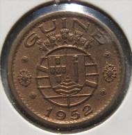 VF MOEDA DE GUINÉ 50 CENTAVOS   1952 - Guinea Bissau
