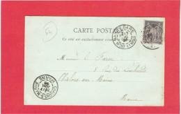 NANCY 1898 FONTAINE D AMPHITRITE CARTE EN BON ETAT - Nancy