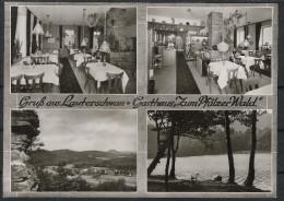 Lauterschwan, Erlenbach, Dahn, Bergzabern - Alte Sw Karte - Dahn