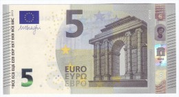 FRANCE  5 Euro DRAGHI  U008D6  UNC - EURO